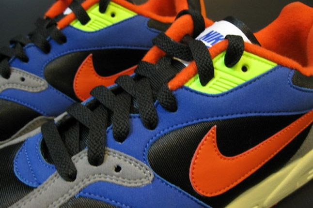 Nike Air Base Ii 2013 Blue Grey Orange Black Details 1