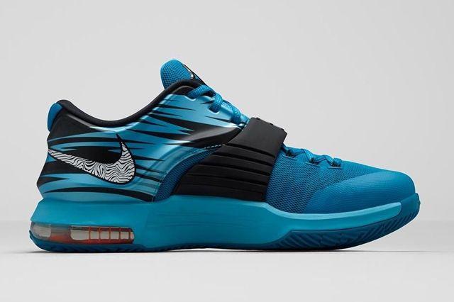 Nike Kd 7 Lacquer Blue Bump 3