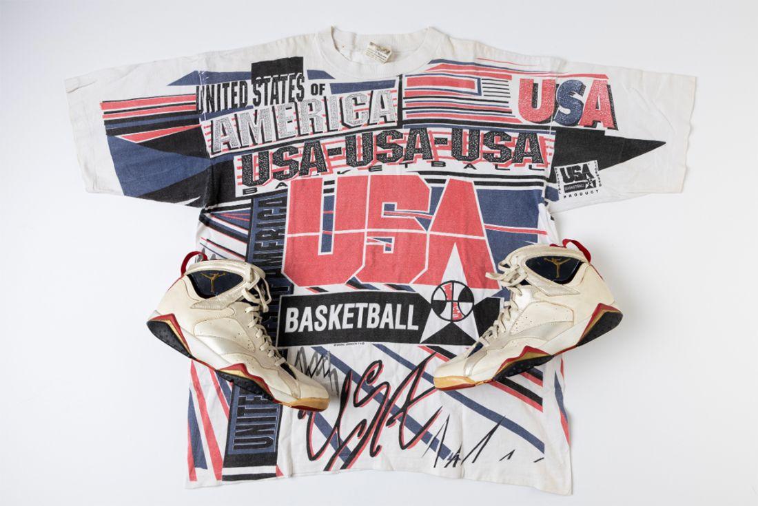 Air Jordan 7 'Olympic' Game-Worn Player Exclusive Top
