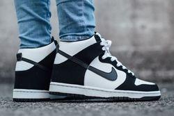 Thumb Nike Dunk High Black White 1
