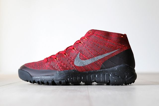 Nike Flyknit Trainer Chukka Fsb University Red 7