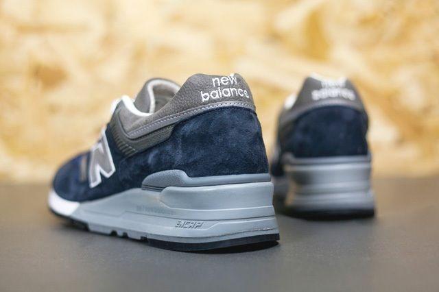 New Balance 997 Navy 1