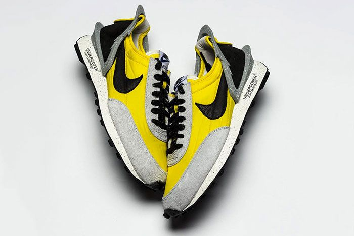 Undercover Nike Daybreak Grey And Yellow Side Shot 4