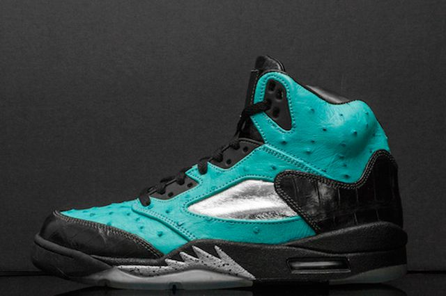Custom Air Jordan 5 Tiffany Jbf Customs