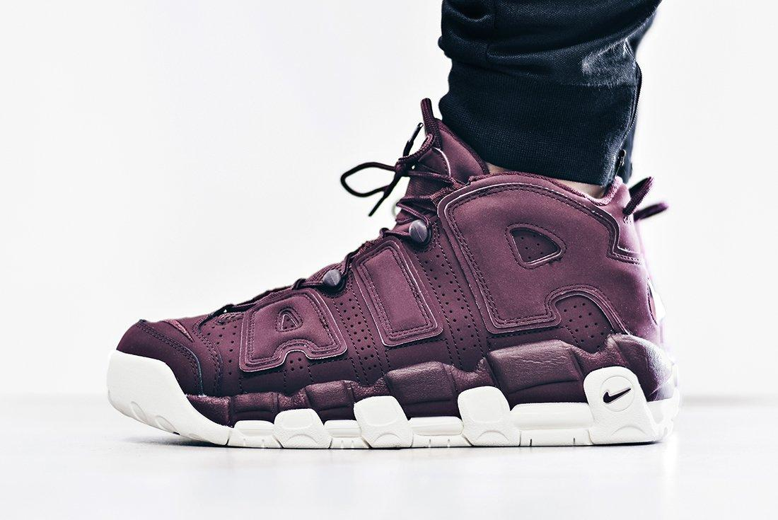 Nike Air More Uptempo Bordeaux2