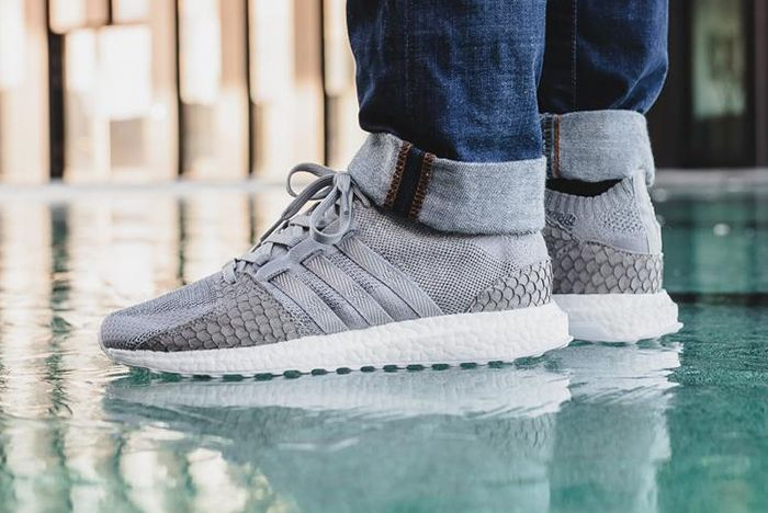 Pusha T X Adidas Eqt Ultra Boost Pk Grey Scale 6