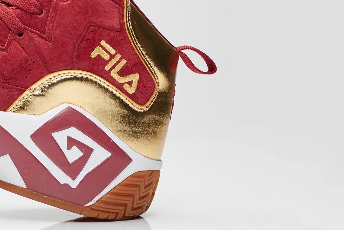 Fila Mb Tawney Port Metallic Gold Gum Sneaker Freaker 4