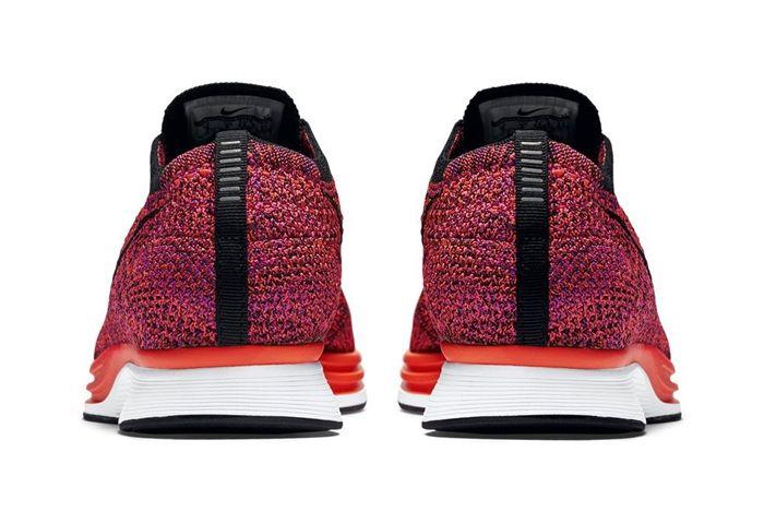Nike Flyknit Racer Acai Berry 3