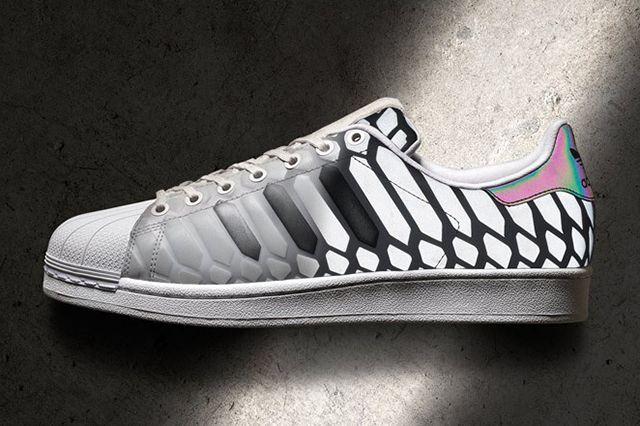 Adidas Superstar Xeno Silver