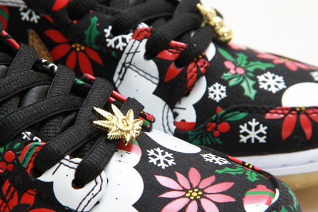 Concepts Nike Sb Dunk High Ugly Christmas Sweater 19