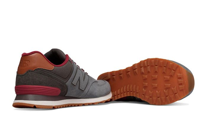 New Balance 574 Collegiate Pack Grey 1
