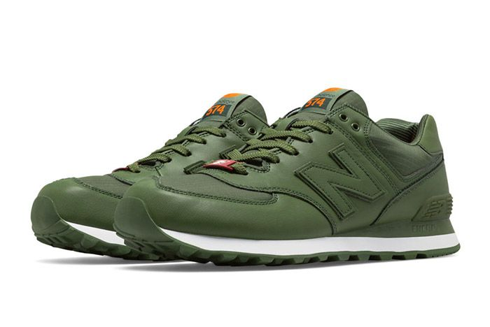 New Balance 574 Flight Jacket Green 3