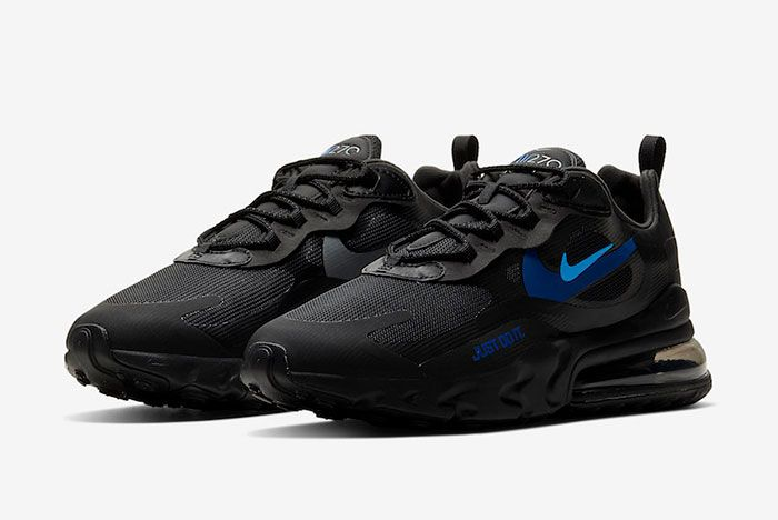 Nike Air Max 270 React Just Do It Ct2203 001 Front Angle