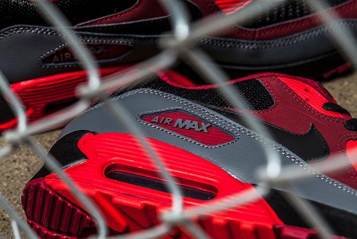 Nike Air Max 90 Crimson Black 3