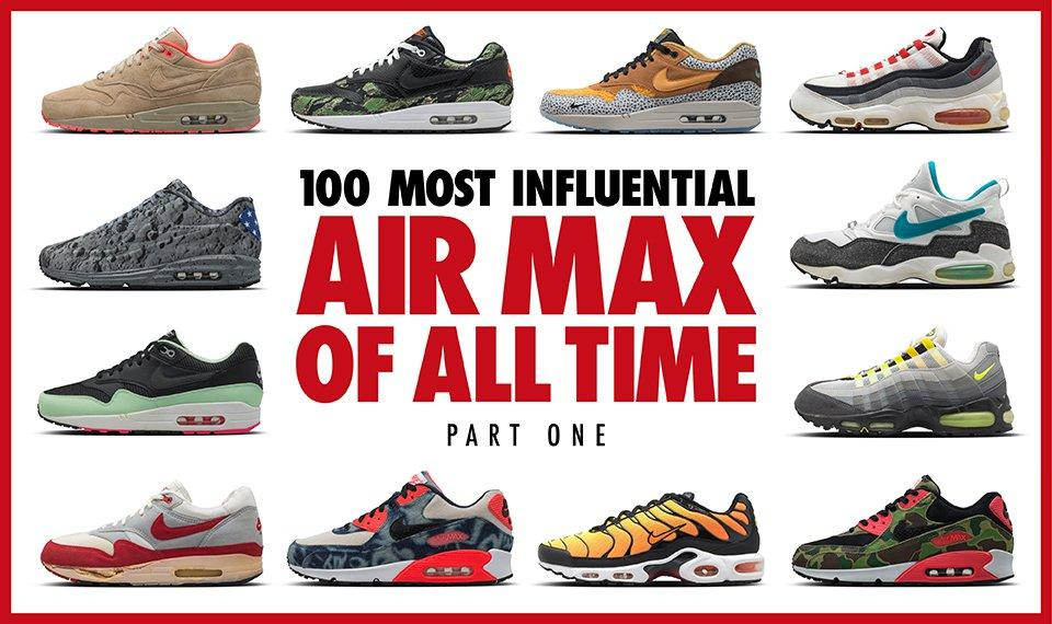 Top 100 Air Max Feautre