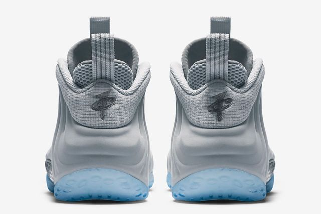 Nike Air Foamposite 1 Grey Suede 4