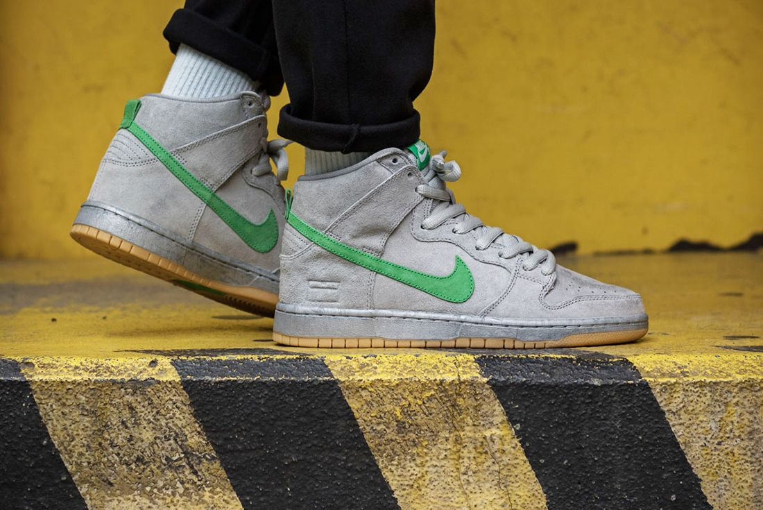 Nike Sb Dunk High Gray Box9