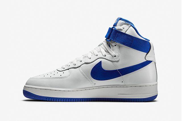 Nike Air Force 1 High Summit White Royal Blue 2