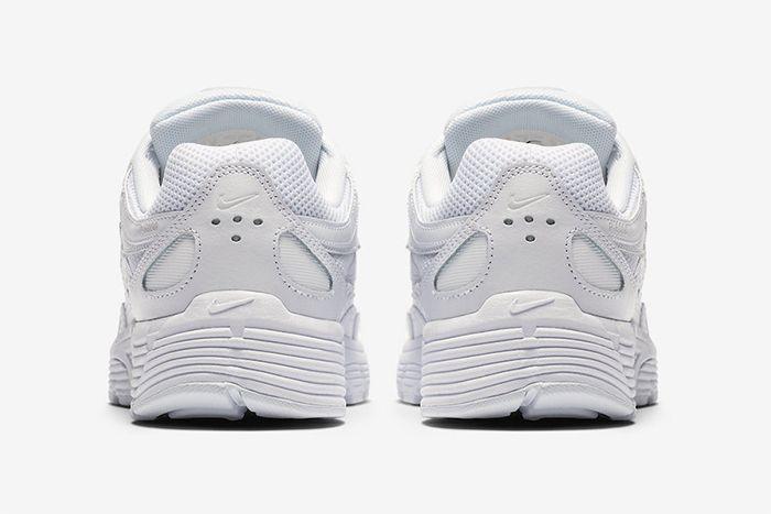 Nike P 6000 Triple White Release Date Heel