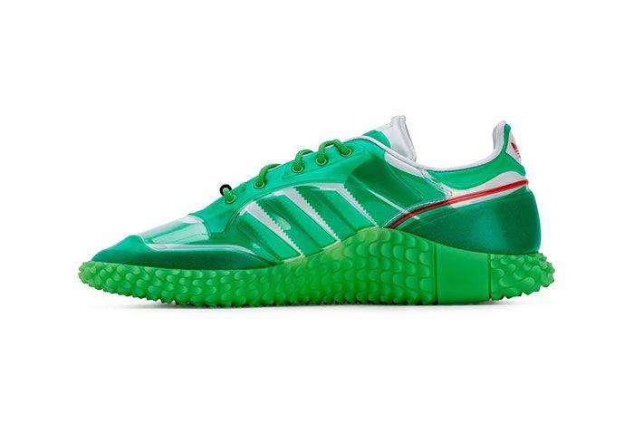 Craig Green Adidas Kamanda Dover Street Market Green Medial Side Shot