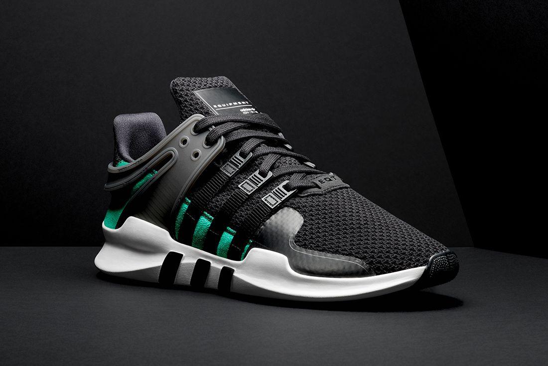 Adidas Eqt Adv Support Blacksub Green3