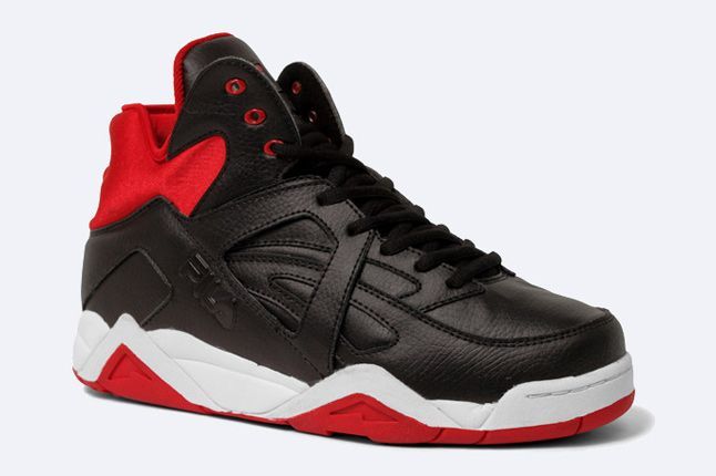 The Cage By Fila Black Red 2 1