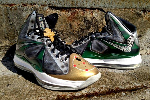 Nike Lebron X Dejesus Customs Dragonzord 1