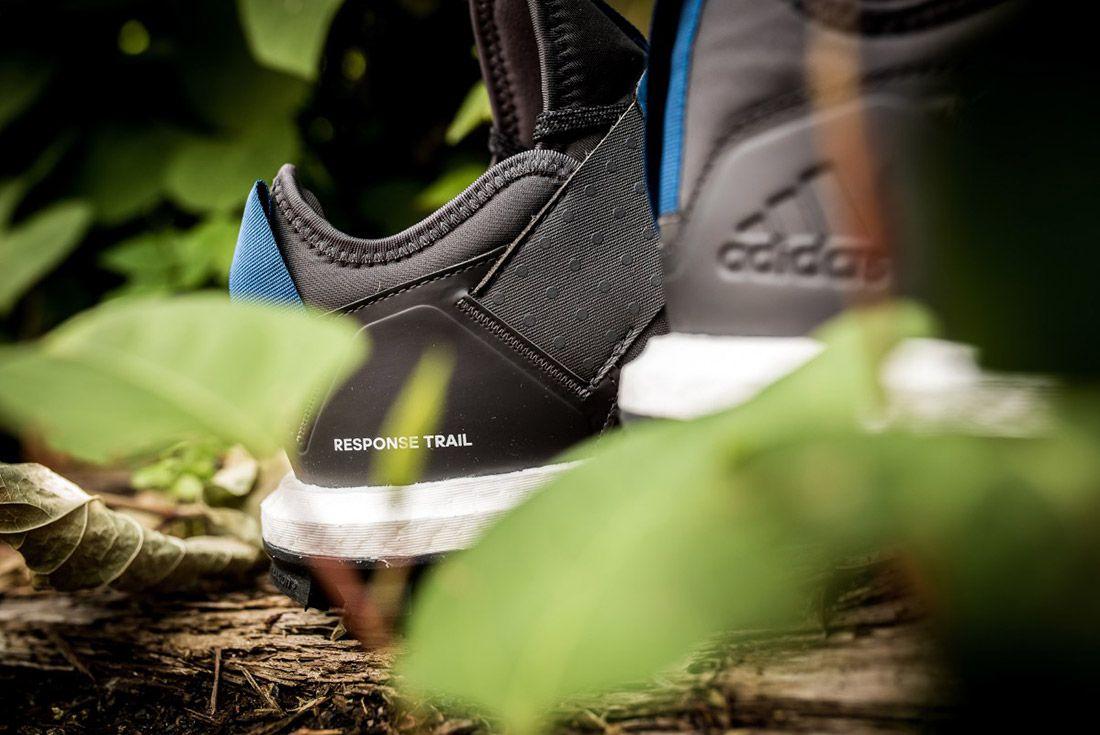Adidas Response Trail Boost Black Navy 5