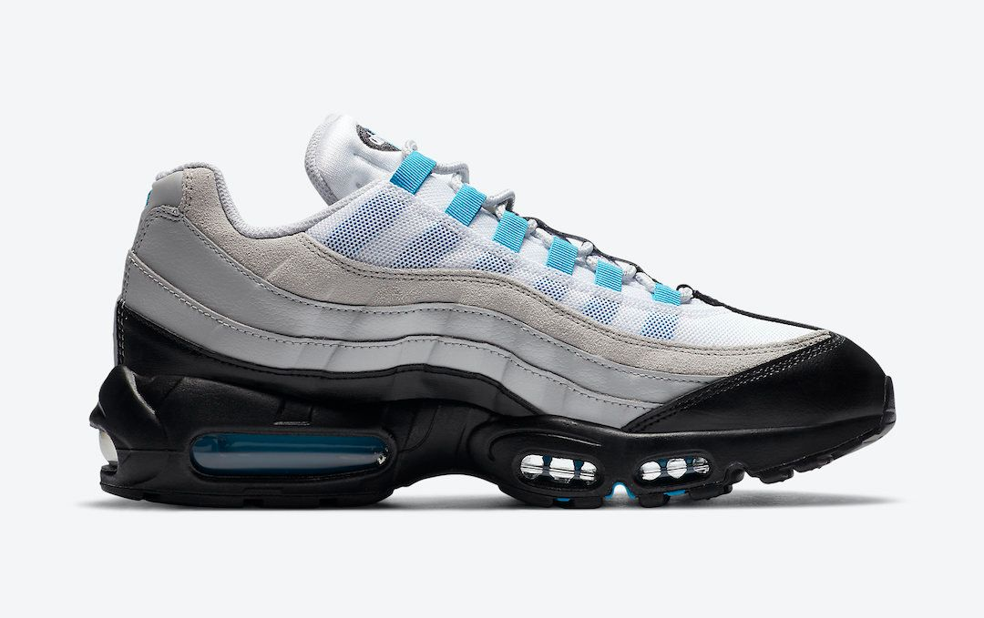 Nike Air Max 95 Laser Blue Right