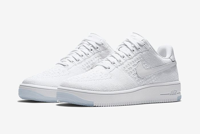Nike Air Force 1 Low Flyknit White On White9