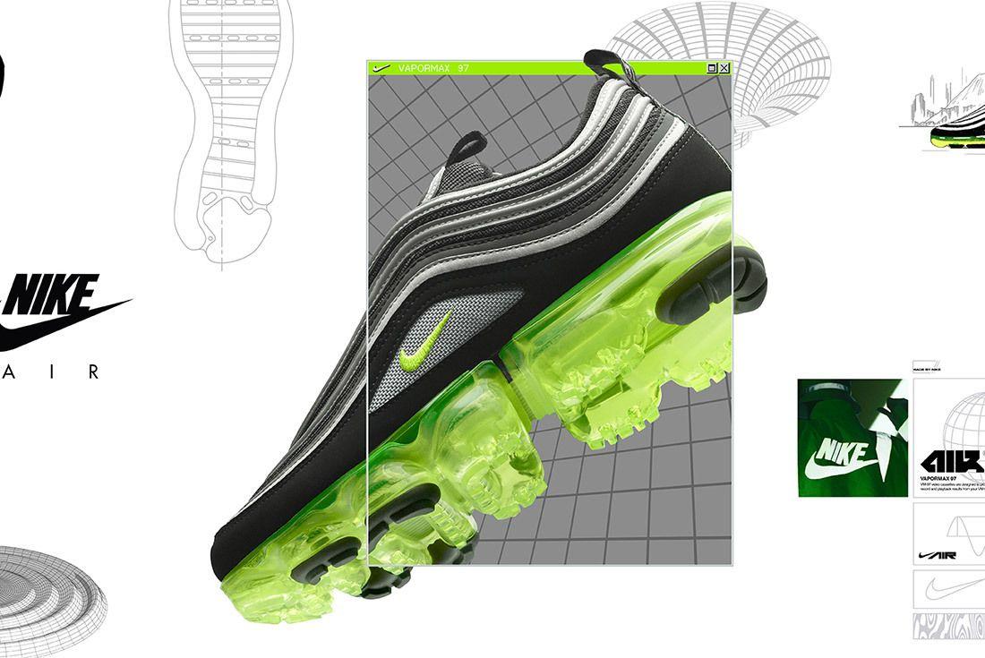 Nike Air Vapormax 97 Neon 6 Small