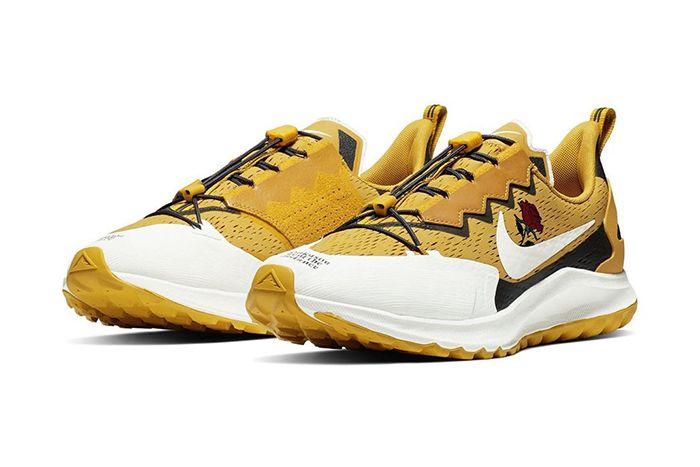 Nike Gyakusou Air Zoom Pegasus 36 Trail Sp Gold Official Release Date Pair