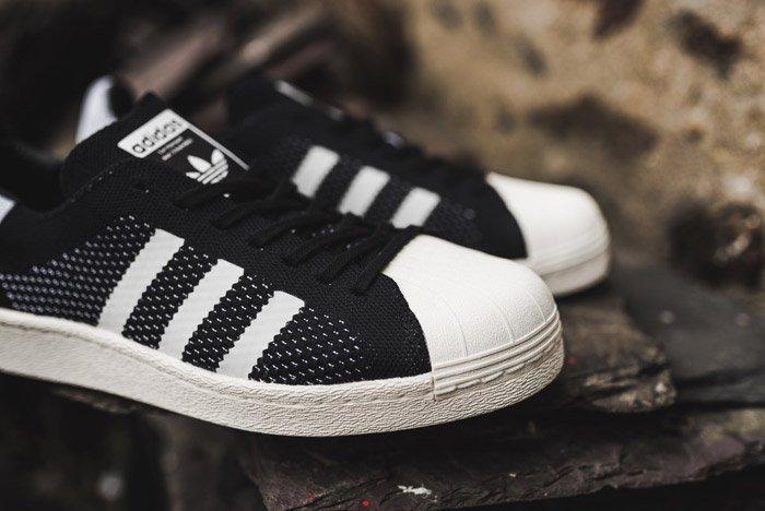 Adidas Superstar Boost Primeknit Black 3