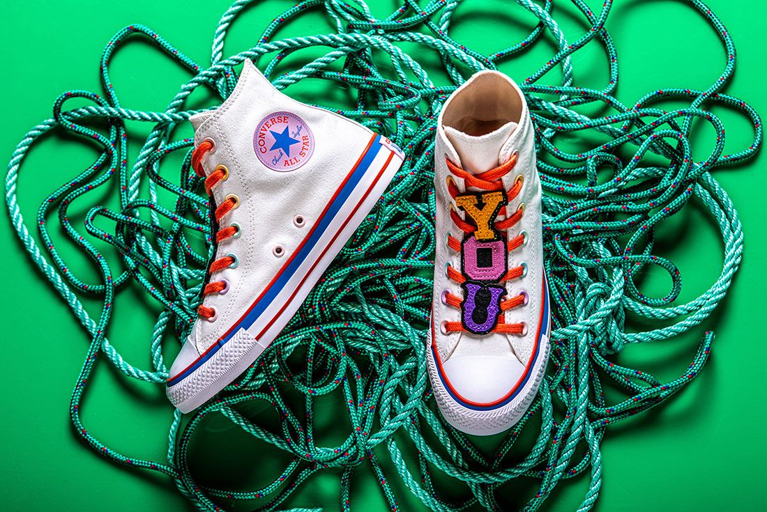 Converse X Millie Bobby Brown Collection Sneaker Freaker Pink Chuck 70 All Star White2