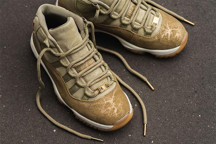 Air Jordan 11 Neutral Olive 3