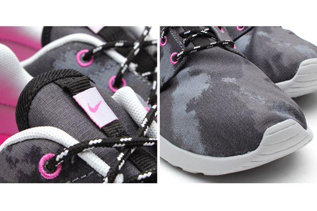 Nike Roshe Run Print Cool Grey Club Pink 2