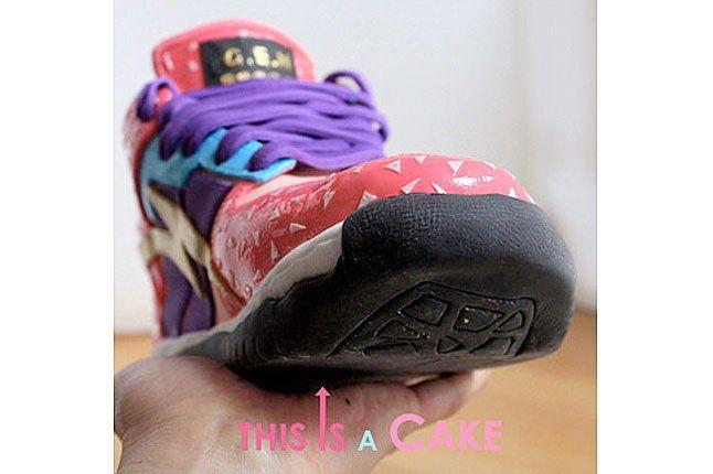 Mcake Sneaker 3 D Cake 2 1