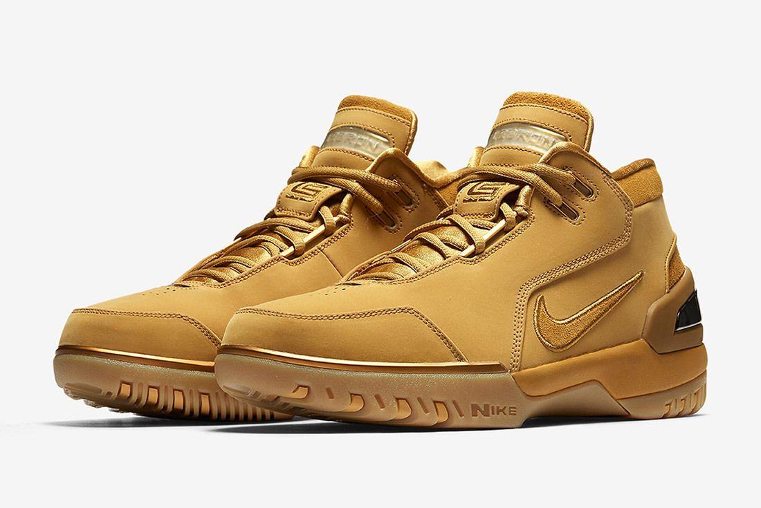 Nike Air Zoom Generation Wheat Lebron James Sneaker Freaker 4