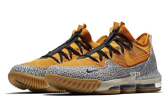 Nike Lebron 16 Low Safari 2