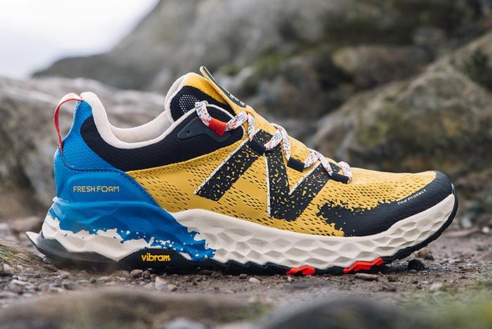 New Balance 850 All Terrain Yellow Side Shot