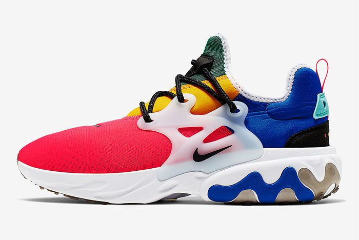 Nike React Presto Track Red Ck2956 601 Lateral Side Shot