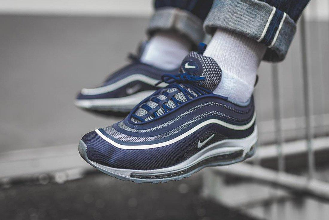 Nike Air Max 97 Ultra Midnight Navy Blue 4