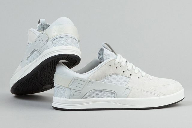 Nike Sb Eric Koston Huarache Shoes Summit White Pure Platinum Black 5