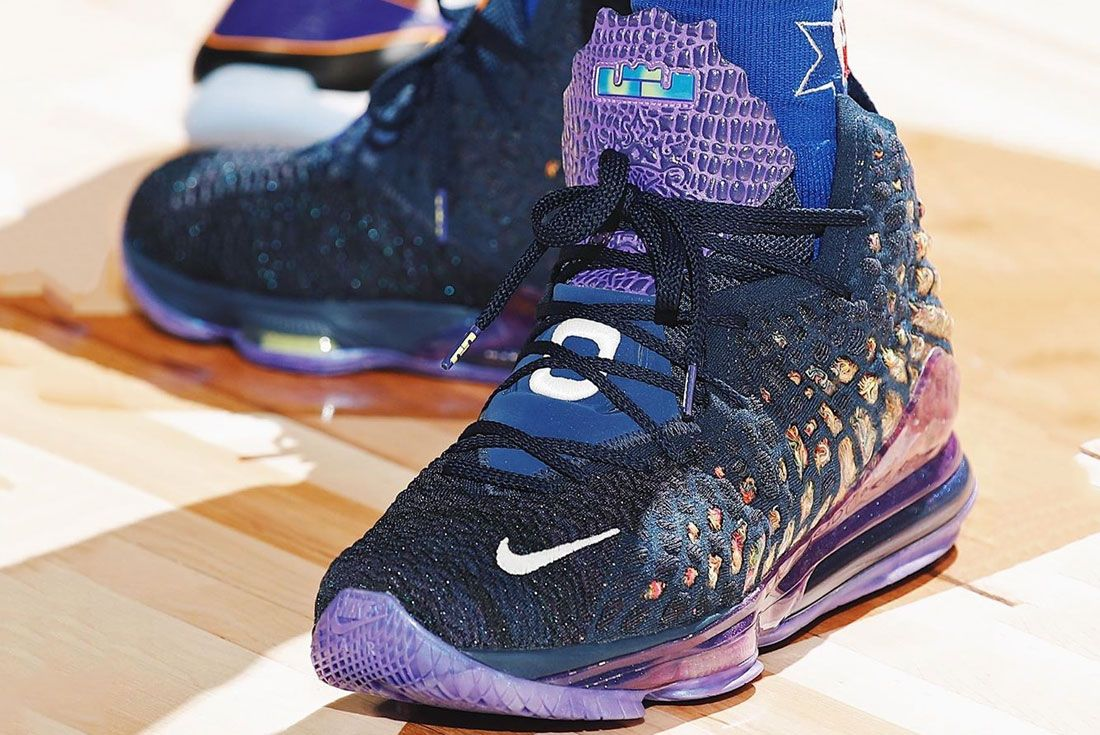 Nike Lebron 17 Monstars Toe