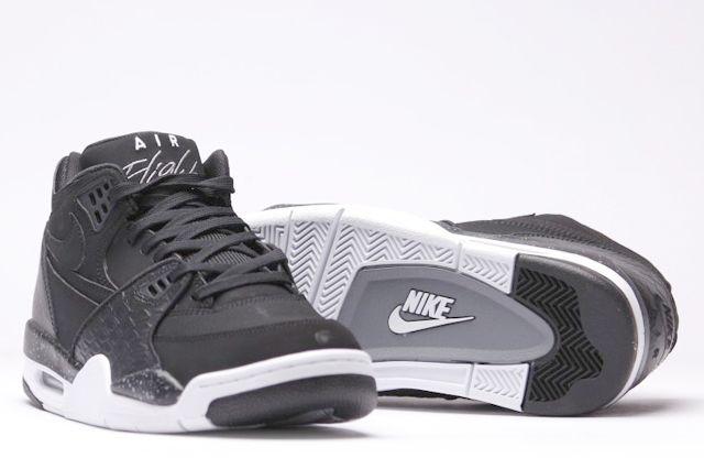 Afew Store Sneaker Nike Air Flight 89 Black White Coolgrey 15