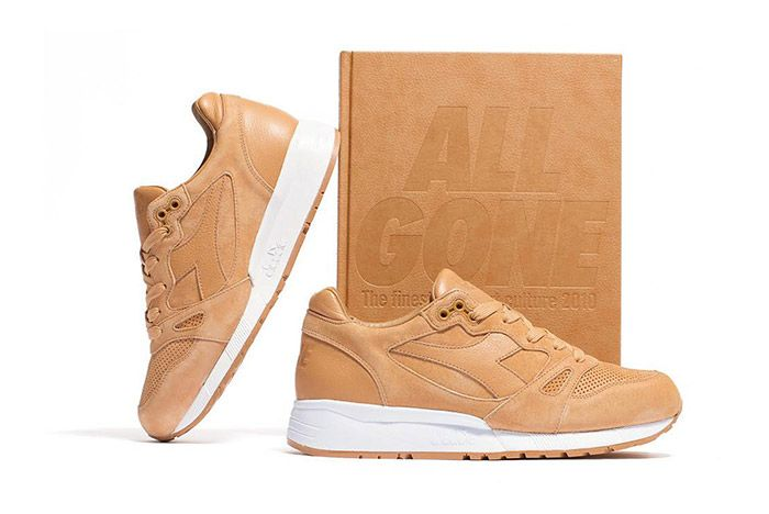La Mjc Diadora S8000 All Gone 2010 Tan Leather 1