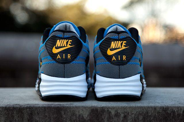 Nike Air Max Lunar 90 Jacquard Grey Blue 2