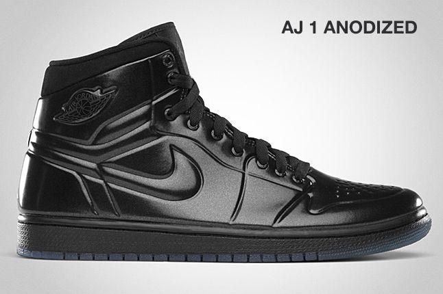 Jordan Aj 1 Anodized Black 1