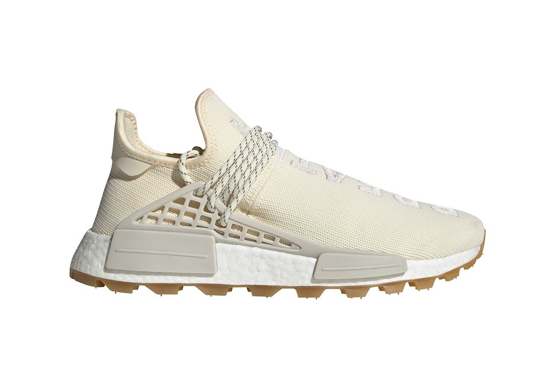 Adidas Pharrell Williams Hu Nmd Cream Right