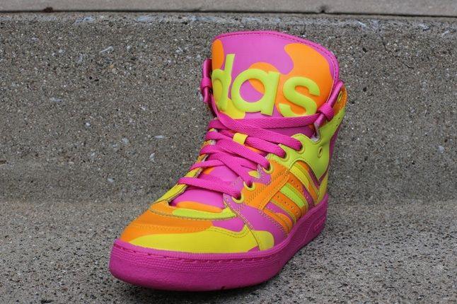 Adidas Js Instinct Hi Neon Camo 1